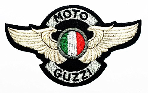 Moto Guzzi Patch Motorbike Motorsport Motorcycles Biker Racing logo patch Jacket T-shirt Sew Iron on Patch Badge Embroidery
