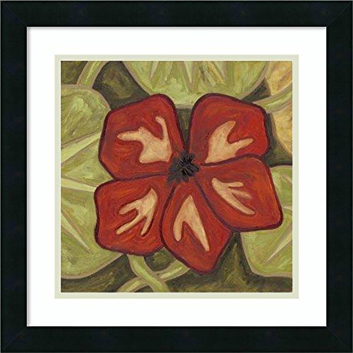 Framed Art Print 'Vibrant Rainforest III' by Karen Deans