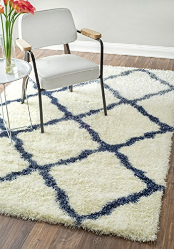 Plush Moroccan Trellis Rugs Inches product image