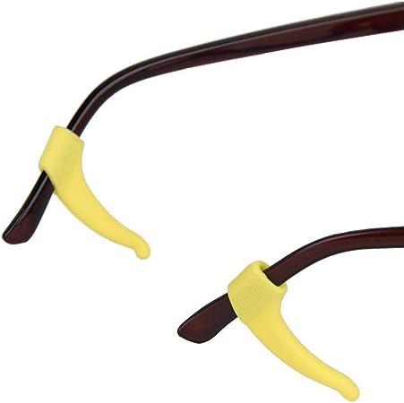 SUPVOX Gancho de Agarre O/ído para Soporte de Gafas Anteojos Antideslizante para Ni/ños Ni/ñas 12pcs