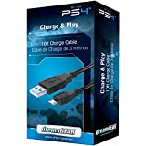 dreamGEAR- Playstation 4 Charge and Play Premium Connection Cable- Perfect for Charging DualShock4 Controllers