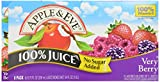 juice box berry - Apple & Eve 100% Juice Very Berry, No Sugar Added, 8 ct