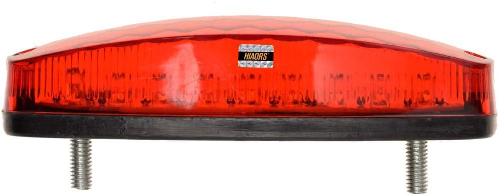 HIAORS LED Rear Tail Brake Light for 50cc 70CC 90cc 110cc 125cc Taotao SunL JCL Coolster Roketa Kazuma Chinese ATVs Quad 4 Wheeler Parts Red