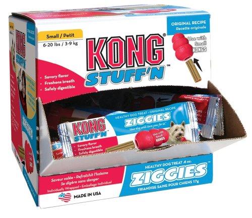 KONG Stuff'N Ziggies Cube Small Dog Treat, 52-Ounce, 75-Pack, My Pet Supplies