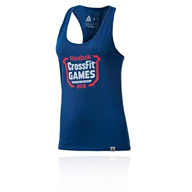 2b971f6116229 Amazon.com  Reebok Crossfit Games Women s Tank Top - AW18  Clothing