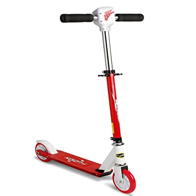 Fuzion Speed O Meter Scooter - Kids Scooter with Speedometer that tracks speed and distance on a LED Screen - Hot Holiday Gift: Toys & Games