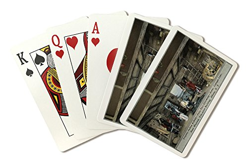 - Albany, NY - Iroquois Indian False Face Ceremony, State Museum (Playing Card Deck - 52 Card Poker Size with Jokers)
