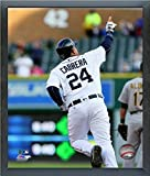 """Miguel Cabrera Detroit Tigers 2016 MLB Action Photo (Size: 12"""" x 15"""") Framed"""