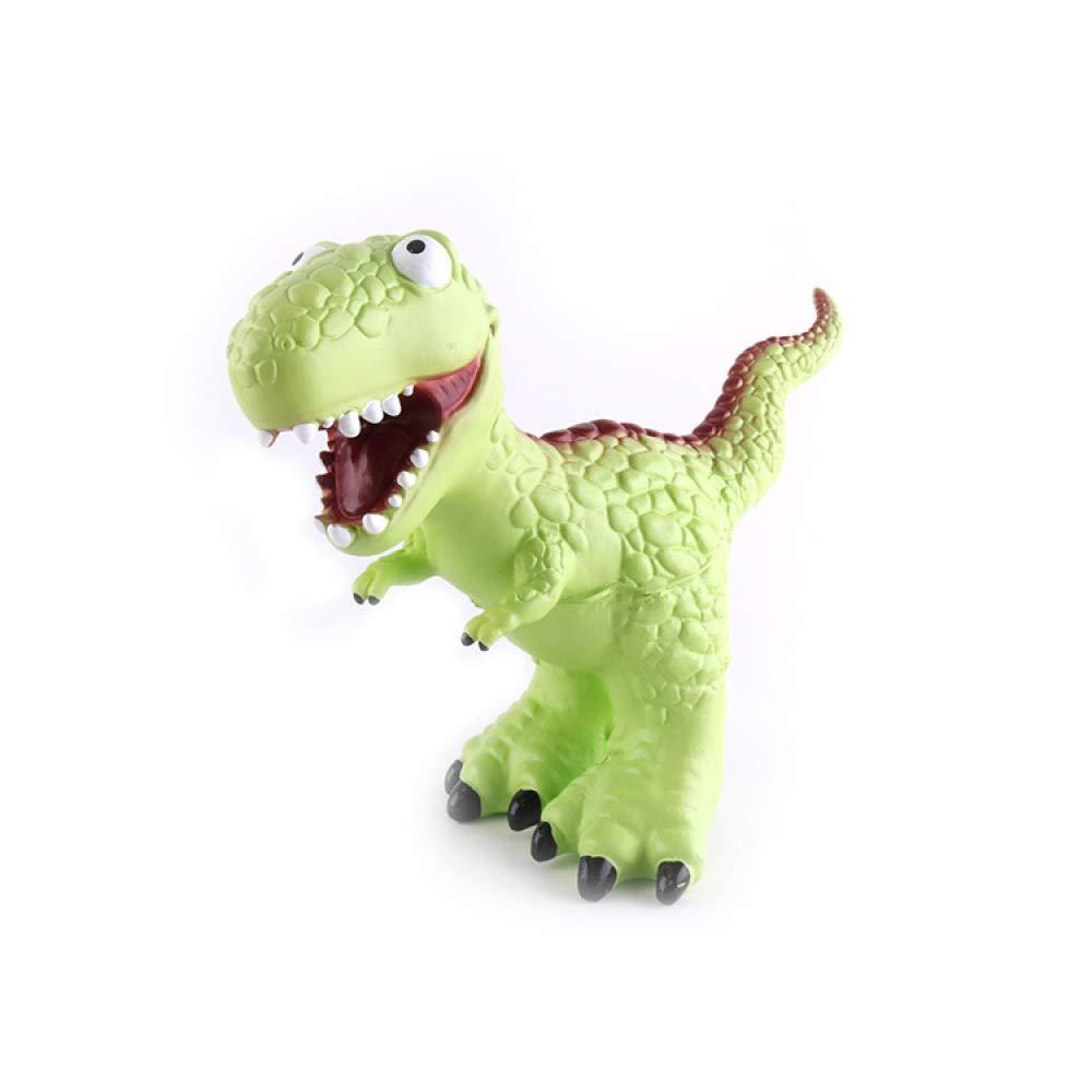 Gikmhyb Plastikmodellpuzzle-Geburtstagsgeschenk des des des Dinosaurierspielzeugs Der Kinder Feste Karikaturtiersimulation,Grün b787cd