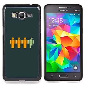 "Qstar Arte & diseño plástico duro Fundas Cover Cubre Hard Case Cover para Samsung Galaxy Grand Prime G530H / DS (Divertido pirata"")"