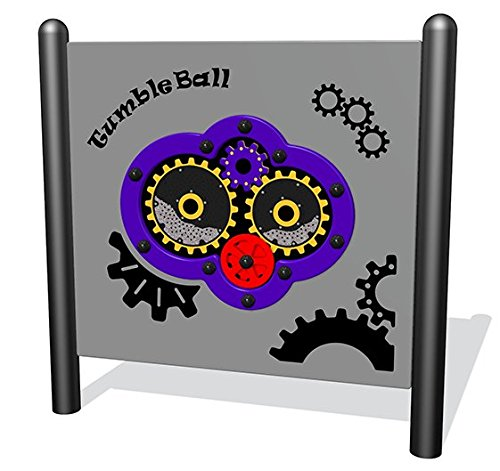 Sports Play Equipment 922-215-F Tumble Ball Interactive Free-Standing Panel by Sports Play Equipment