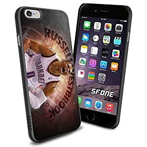 NBA Basketball Player Russell Westbrook Oklahoma City Thunder , Cool iphone 5c Smartphone Case Cover Collector iphone TPU Rubber Case Black