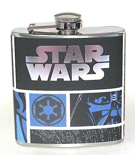 Star Wars Darth Vader Movie Party 6 oz Liquor Hip Flask Flasks Fun Gift