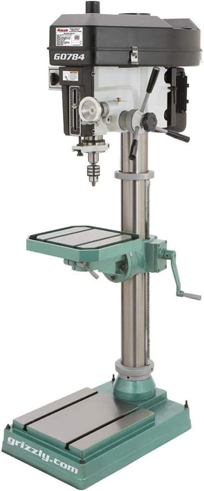 """Grizzly Industrial G0784-15"""" Heavy-Duty Floor Drill Press"""