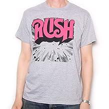 Rush T Shirt - First Album Explosion Logo 100% Official