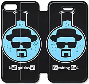 Screen Protection Phone Cases Breaking Bad-15 iPhone 5 5S Leather Flip Case