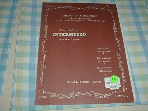 (Leo Relmes Intermezzo for Flute & Piano Score & Part )