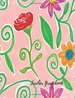 amazon com teacher gradebook record notebook pad for teachers