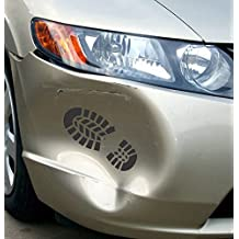 """Boot Print - Universal Repair Kit - 3 1/2"""" x 8 1/2"""" die cut vinyl decal for windows, cars, trucks, tool boxes, laptops, MacBook - virtually any hard, smooth surface"""