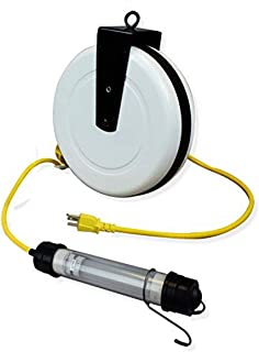 product image for Saf-T-Lite 1940-4011 Stubby LED Work Light, 40ft Reel