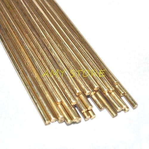 Kamas 10pcs Brass Rods Wires Sticks Electrode 1.0/1.2/1.5/1.6/1.8/2.0/2.2/2.5/3.0mm x 250mm Gold Repair Welding Brazing Soldering Rod - (Diameter: 1.0mm) - - Amazon.com