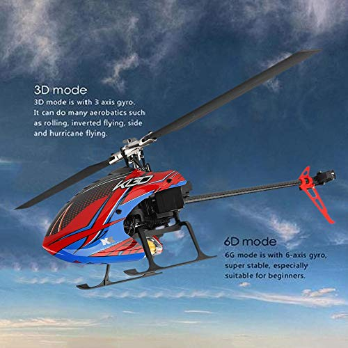 Blueyouth Aircraft Model - for Weili K130 RC Helicopter Six - Way Single - Blade Without Aileron Aircraft Model for Weili K130 RC by Blueyouth (Image #3)