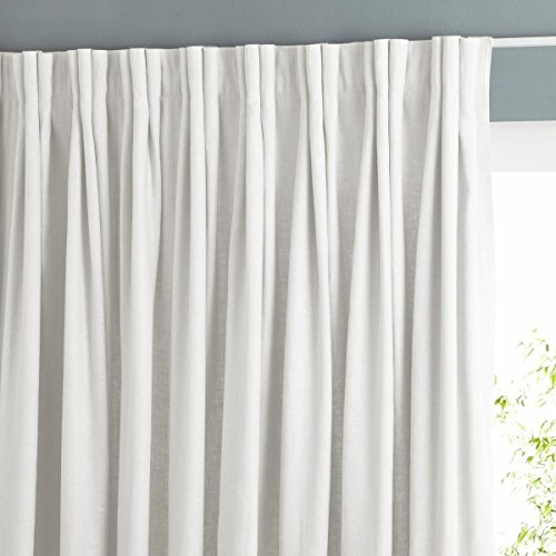La redoute colin lined curtain with pinch pleats in linen for La redoute double rideaux