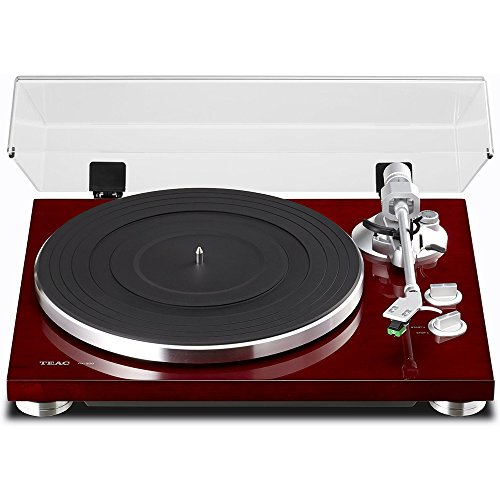Teac TN-300 2-speed Analog Turntable - Belt Drive - Manual -
