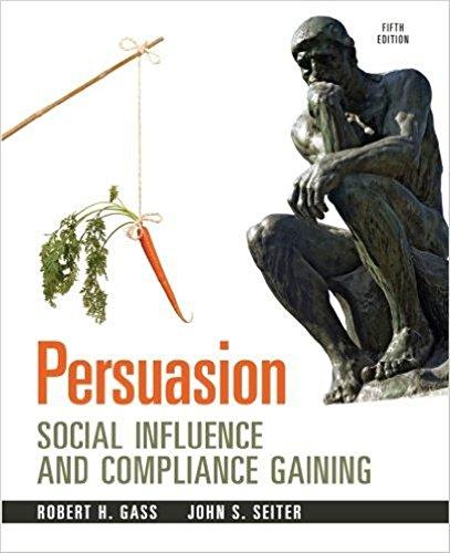 Persuasion:Soc.Influence... Text (Pb)