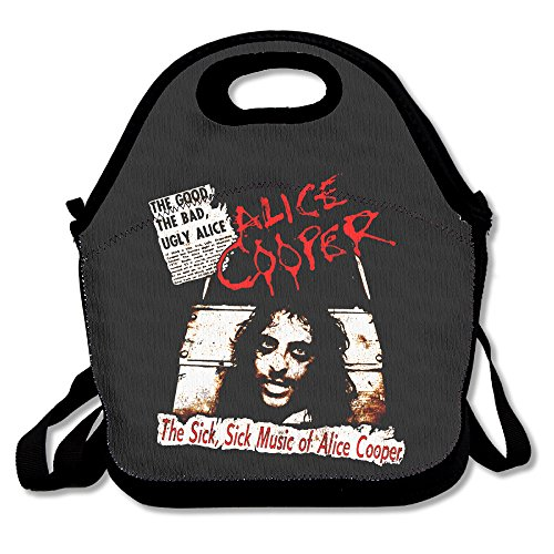 Gymsack The Sick,Sick Music Of Alice Cooper Lunch Bag