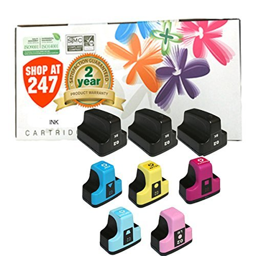 02 Cyan Compatible Ink Cartridge - 1