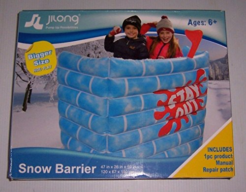 Jilong Inflatable Snow Barrier Fort
