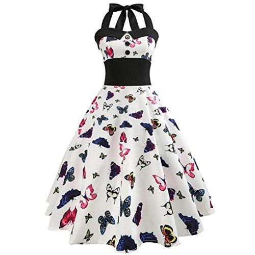 Figurbetontes Kleid Damen Classy Bandage Halfter Kleider Vintage ...