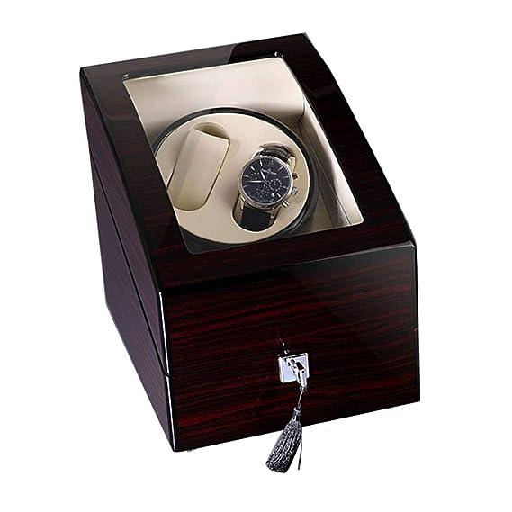 WCX Madera Estuche Bobinadora para 2 Relojes Cajas para ...
