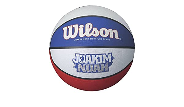 WILSON Joakim Noah Balón de Baloncesto Tricolor, 7: Amazon.es ...