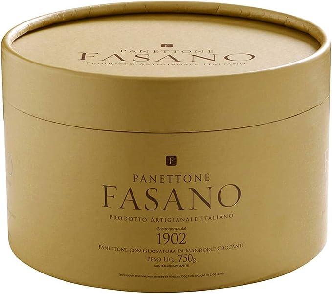 Panetone tradicional Fasano 750g por Fasano
