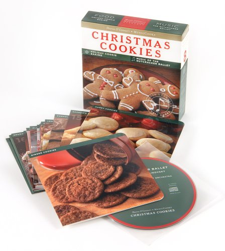 Christmas Cookies Musiccooks Recipe Cards Music Cd Holiday