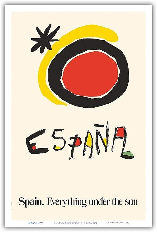 Pacifica Island Art - España - Todo bajo el Sol - Póster de Viajes ...