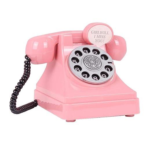 Huchas Para Bebes.Haiyemao Juguete De Telefono Novedad Hucha Retro Telefono