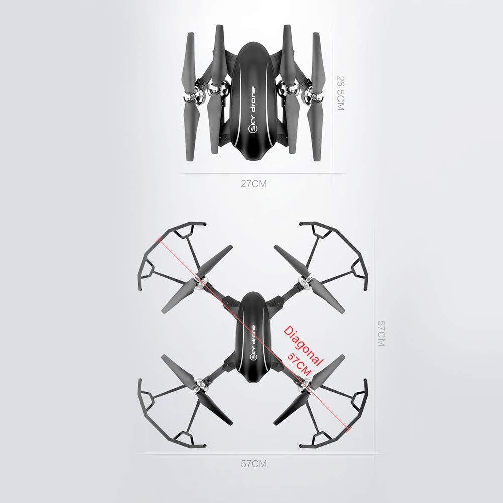 EisEyen - Mini quadricottero con Fotocamera HD 720p, Drone Controllato a Distanza, GPS, Funzione di Sospensione, modalità Testa per Principianti, WiFi FPV 720p WiFi No GPS