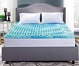 Serta Perfect Sleeper King 3-Inch Gel Memory Foam Mattress Topper