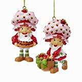 Kurt Adler STRAWBERRY SHORTCAKE CAKE/BASKET ORNAMENT 2A