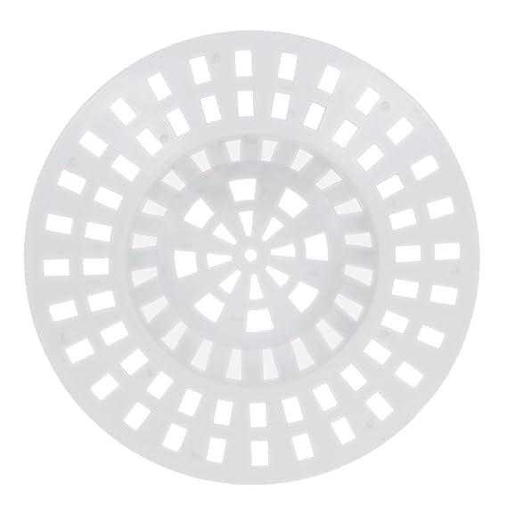 Abflu/ßsieb /Ø 60 mm wei/ß 12er Set