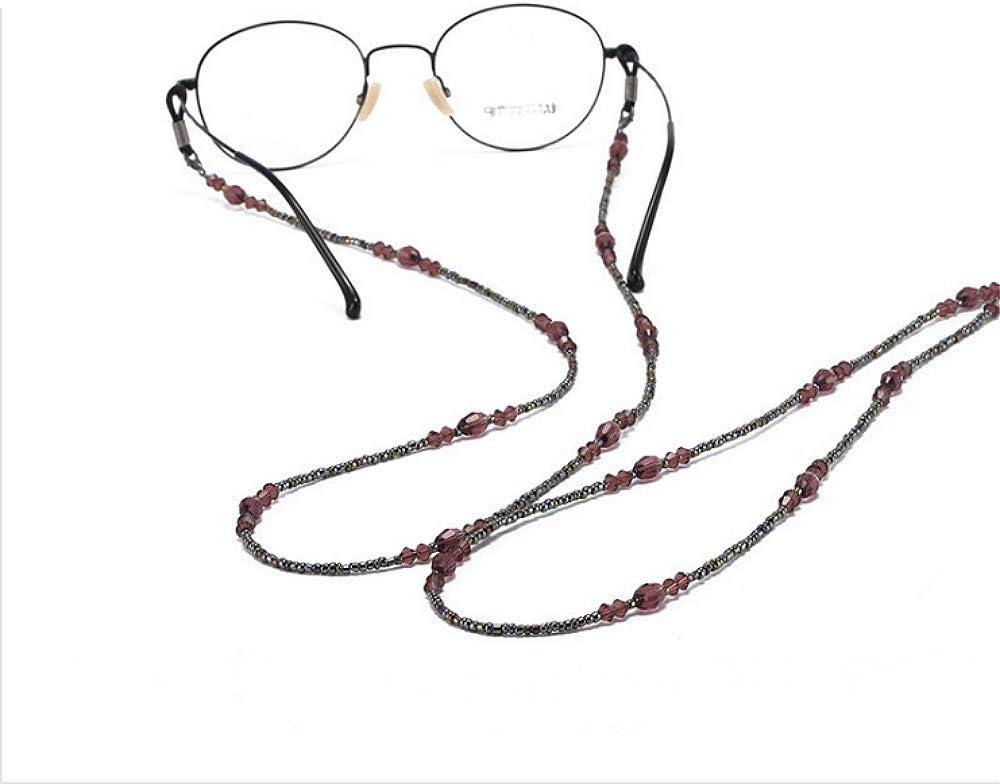 cordino per donne anziane e anziane per lettura di vetro catenine di vetro da donna con perline in vetro cinturino per occhiali Catercing