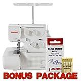 Janome 8002D Serger Includes Bonus Accessories