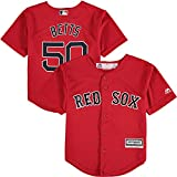 Mookie Betts Boston Red Sox Toddler Cool Base Alternate Red Replica Jersey