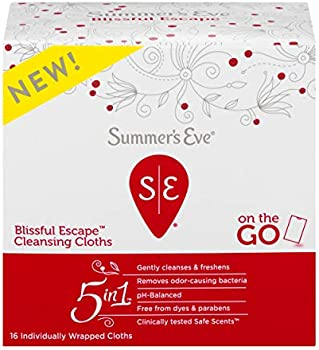 16-Count Summer's Eve Blissful Escape Personal Cloths