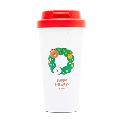 Amazon.com: Line Friends - Vaso de acero inoxidable para ...
