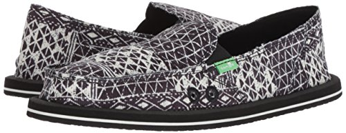 Womens Ojai Donna 1094453 Sanuk Folk Black xHaYYgw