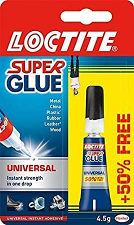 febcb4af9d3 Super Glue Loctite - Pegamento líquido para metal